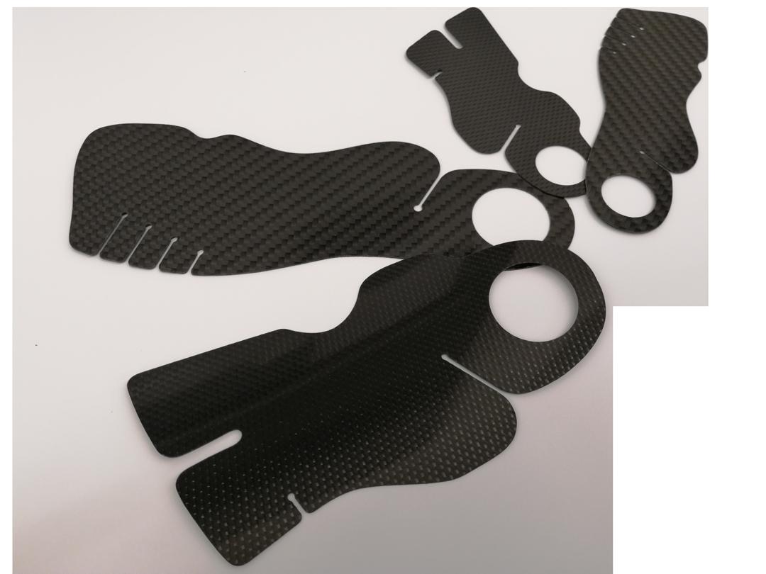 Carbonteile Orthopädische Schuheinlagen