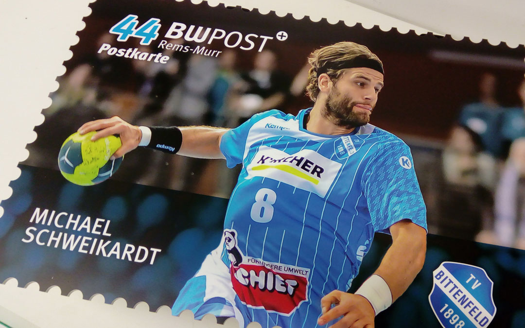 Briefmarken aus Forex mit Digitaldruck